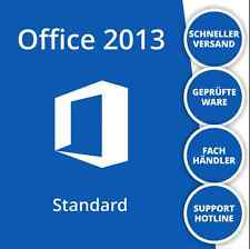 Microsoft Office 2013 Standard Vollversion | Deutsch | 32/64 Bit | 1PC