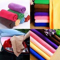 Hot Polishing Scrubbing Cloth Microfibre Detailing Waxing Car Cleaning Towel