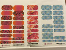 Jamberry 1 Full Sheet 1 Half-sheet And 1 Partial Plus
