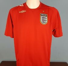 Authentic England 2006 - 2008 Away Shirt Size Large Umbro World Cup (022)