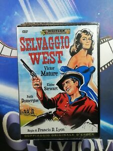 SELVAGGIO WEST  - (1958) Western ** A&R Productions *DvD* ......NUOVO
