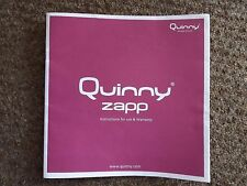 Quinny Zapp Stroller Leaflet Instructions