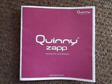 Quinny Zapp Stroller Leaflet/ Instructions