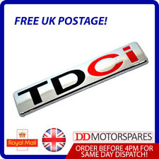 TDCI BADGE FOR FORD FOCUS FIESTA TRANSIT MONDEO B C S MAX BOOT REAR LOGO EMBLEM
