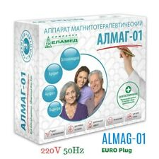 Almag 01  Elamed Magnetic therapy device EU 220/230V 50Hz Ambulance!