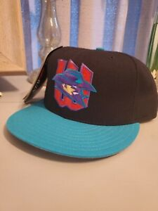 Wichita Wranglers New Era Hat Cap Fitted 7 1/4 Deadstock NWT MiLB