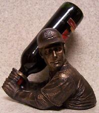 Wine Bottle Holder Bam Vino Sculpture MLB Detroit Tigers Baseball Batter Up NEW