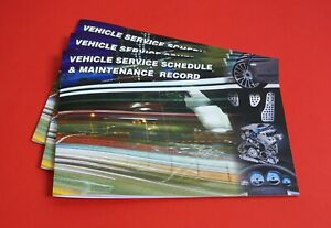 Blank Service History Book - Car Van Maintenance Replacement Vehicle Record Book