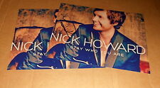 Nick Howard *The Voice of Germany*, original signiertes Foto in 20x27 + Foto
