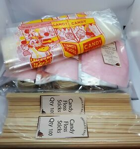 Candy Floss Sugar And Supplies Kit,