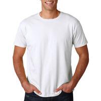 Gildan Heavy Cotton T-Shirts 5.3oz Blank Solid Mens Short Sleeve Tee 5000