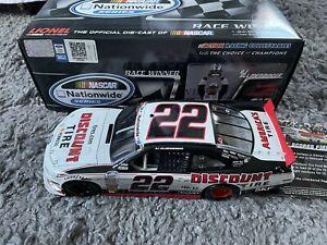 AJ ALLMENDINGER 2013 ACTION #22 WISCONSIN 1st NASCAR WIN DIECAST RARE /640
