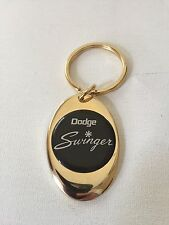 Dodge Swinger Keychain Solid Brass key chain Personalized Free