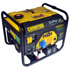 Champion CPG3500E2-DF 2.8kVA Portable Petrol Generator with Recoil Start