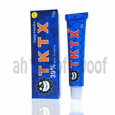 NEW TKTX 38/39% More Numbing Cream Piercing Permanent Eyebrow Embroidered Tattoo