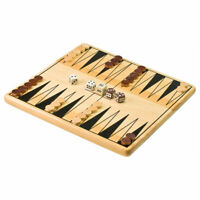 Tactic Backgammon Game - A Wooden Version of the Board Game Classic!