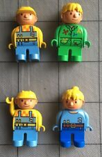 Lot Of 4 LEGO DUPLO BOB THE BUILDER & WENDY Painter FIGURES