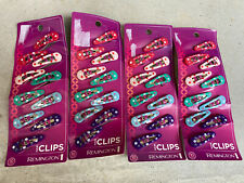 Remington Hair Clips 10 count, 4 Packs, 40 Total Clips