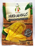 3 x 42g Dried Mango Slices Snacks Natural Thai Fruit Dehydrated Food Delicious