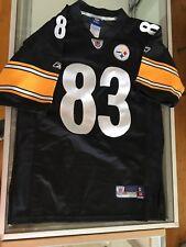 NFL Pittsburgh Steelers Heath Miller 83 Black jersey. Youth Boys M 10-12 D19