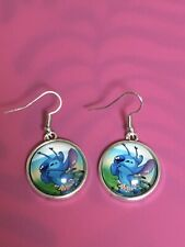 Lilo And Stitch Earrings/Dangle Hook Earrings/ Women/Charm/Stitch/Ohana/Cute