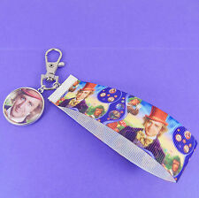 WILLY WONKA BAG CHARM charlie and the chocolate factory retro kitsch vintage