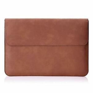 Tablet Sleeve Case Bag, PU Leather Protective Laptop Sleeve Compatible with