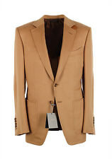 New TOM FORD O'Connor Camel Sport Coat Size 48 / 38R U.S. Fit Y in 100% Cashm...