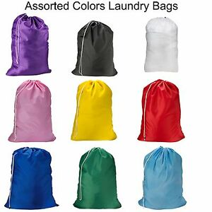 1,2,3 Pack  Laundry Bag Heavy Duty Large Jumbo Nylon 30 x 40 - Great for College