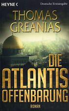 DIE ATLANTIS OFFENBARUNG - Thomas Greanias - Roman BUCH