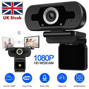 HD 1080P Webcam Camera With Microphone Web camera For Laptop PC Desktop Computer