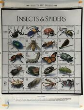 Scott# 3351   Insects and Spiders.  33¢ MNH sheet of 20.  Issued in 1999.