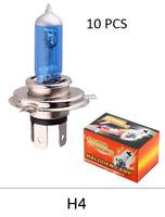 Lot 10 Ampoules Effet Xenon H4 6000K 100w 12V (CE)