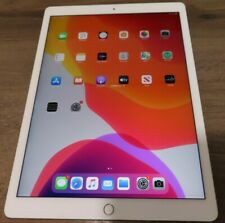 Apple iPad Pro 2nd Gen. 64GB Wi-Fi 4G cellular (Unlocked) 12.9 in Gold good used