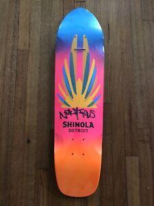 Natas Kaupas Shinola Detroit Skateboard Deck Autographed 54/150