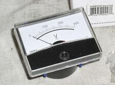 Brand New 300v 300 V 220 Vac Ac Volt Analog Line Power Panel Meter Voltmeter Usa