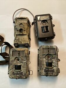 Bushnell Trophy Cam Model 119628 119626 119436 Trail Camera Game Cam **Lot Of 4*