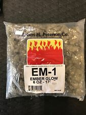 Peterson Gas Logs Ember Glow - 6 Oz. Bag Glowing Embers 6 oz. New