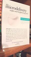 Philosophy Microdelivery Triple-Acid Brightening Peel Pads DELUXE SIZE 24 ct NIB