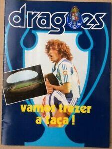 Bayern Munich V FC Porto European Cup Final 1987 Dragoes Edition