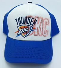 quality design 5b36b 9e9c7 NBA Oklahoma City Thunder Adult Structured Curved Brim Adjustable Fit Cap  NEW!