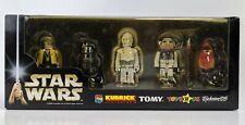 Star Wars Tomy Kubrick 5-Pack - Luke, R5, K-3PO, Ten Numb & Wicket Boxed