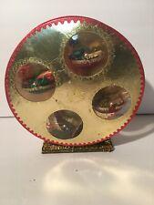 Vintage Christmas Decoration Musical Ferris Wheel | Made in Japan Elves Wind Up