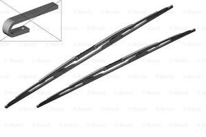 "LAND ROVER BOSCH Twin Front Windshield Wiper Blades PAIR 530mm 21"" 807"