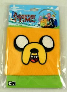 Adventure Time With Finn & Jake Embroidered Face Cuff Wristband Bracelet New