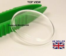 Vidrio Cristal Mineral se ajusta precista PRS14 300M Reloj #779