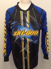 Ski Doo Team Bombardier Size Small EUC Blue/yellow Great Graphics