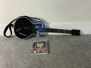 Guitar Hero Wireless Controller Sony PS3 PlayStation 3 Les Paul Gibson NO DONGLE