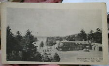 c1940s Oswegatchie FFA Camp at Croghan New York NY postcard view