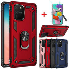 For Samsung Galaxy A71 5G Case Ring Holder Stand PC Phone Cover Screen Protector